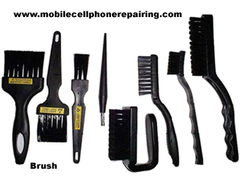 ESD-Safe Brush for Mobile Repairing
