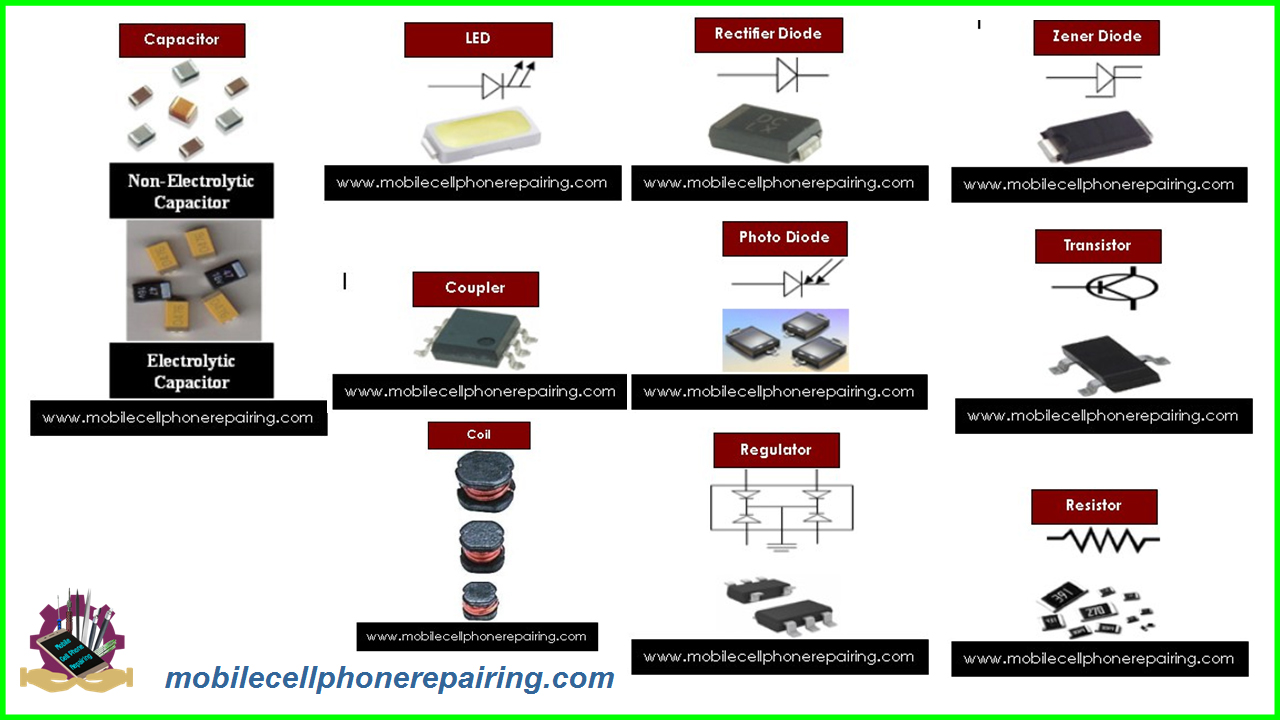 Small Parts / Electronic Components of Mobile Phone and Their Function