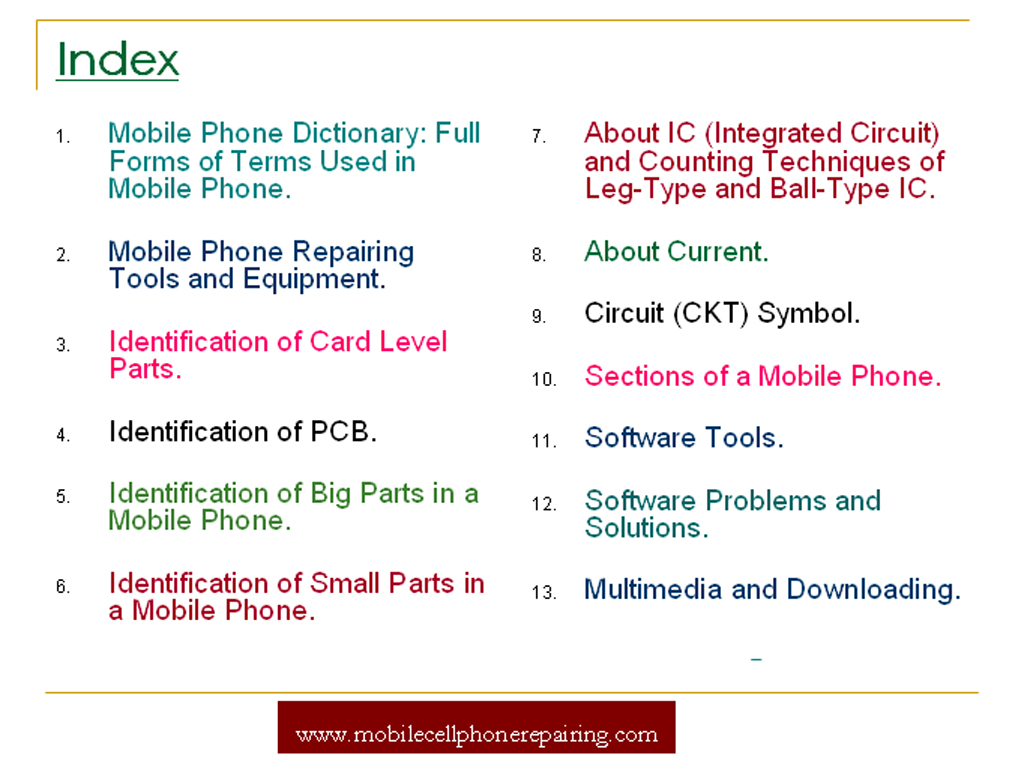 Mobile Phone Repairing Pdf Book Free Tutorial Guide Electronic Devices And Circuits Tamil