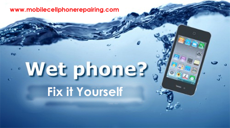 Wet Mobile Phone