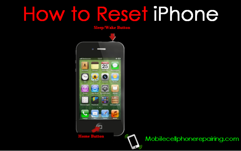 iphone 4s reset how to reset iphone soft reset and reset 10927
