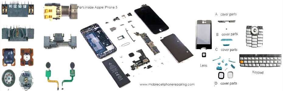 Card Level Parts of a Mobile Phone