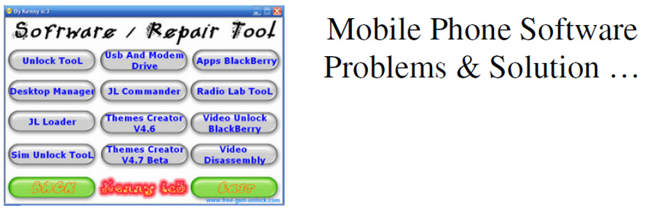 Mobile Phone Software Problems & Solutions